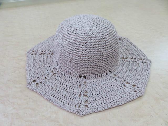 「八角形つば広帽子」